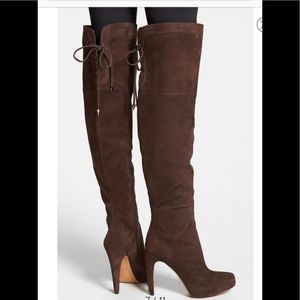 NWOB Sam Edelman Kayla Over the Knee Boot Suede